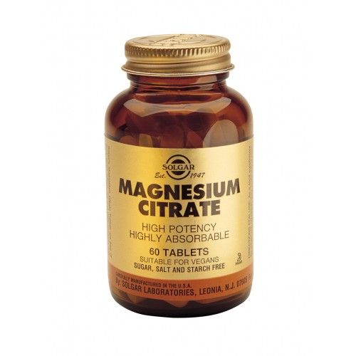 MAGNESIUM CITRATE tablets 60s