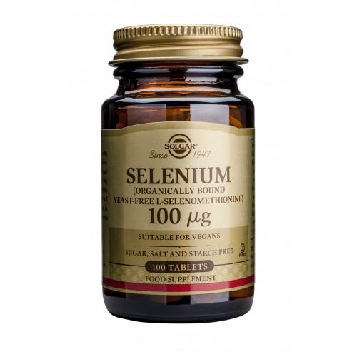 SELENIUM 100μg tablets 100s