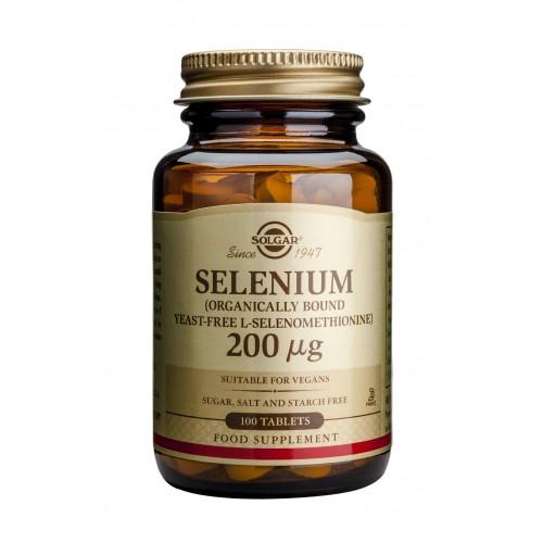 SELENIUM 200μg tablets 100s