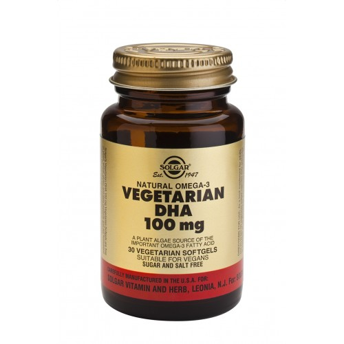 VEGETARIAN DHA™ 100mg softgels 30s
