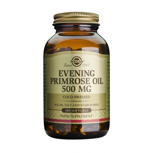 EVENING PRIMROSE OIL 500mg softgels 180s