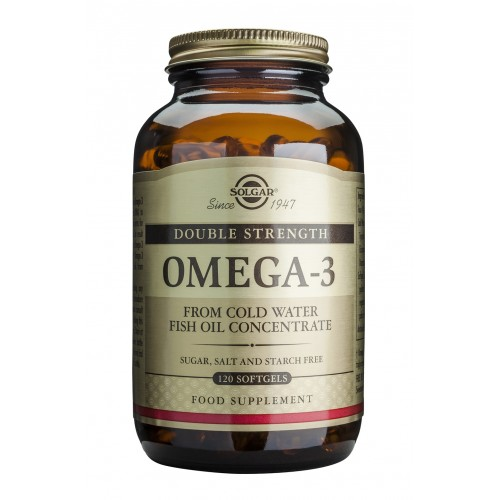 OMEGA 3 DOUBLE STRENGTH softgels 120s