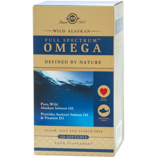 WILD ALASKAN FULL SPECTRUM™ OMEGA softgels 120s