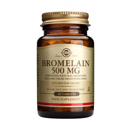 BROMELAIN 500mg tablets 30s