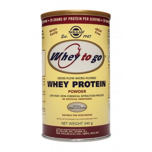 WHEY PROTEIN (WHEY TO GO™) vanilla bean flavοr σε σκόνη 340gr/907gr
