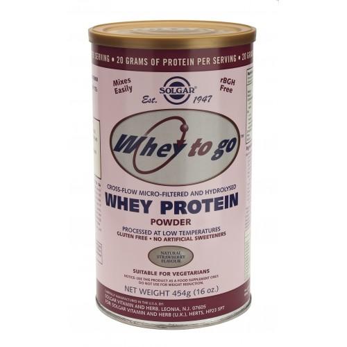 WHEY PROTEIN (WHEY TO GO™) strawberry flavor σε σκόνη 454gr