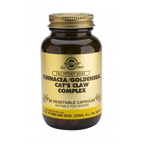 ECHINACEA/GOLDENSEAL/CAT'S CLAW COMPLEX veg.caps 60s