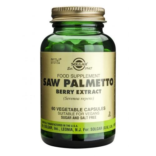 SAW PALMETTO BERRY EXTRACT veg.caps 60s