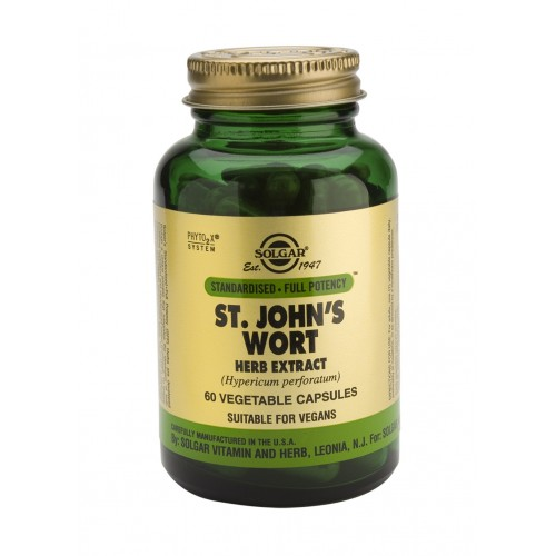 ST. JOHN'S WORT HERB EXTRACT '175' veg.caps 60s