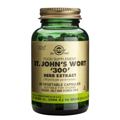 ST. JOHN'S WORT HERB '300' veg.caps 50s