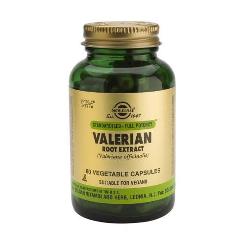 VALERIAN ROOT EXTRACT veg.caps 60s